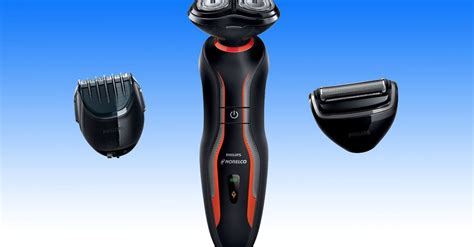 manscaping electric razor versatile norelco toolkit shaves grooms beards and