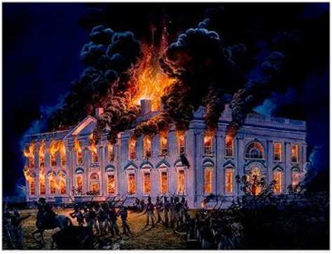 the burning of the white house war of 1812 prints and posters