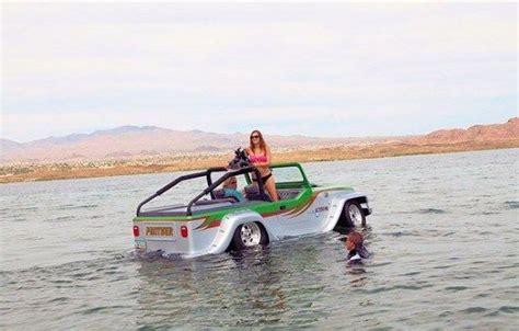 boat car jeep is it a jeep is it a speedboat no it s watercar s