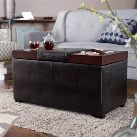 Ottoman With Stools Inside by 30 Best Ideas Of Coffee Tables With Seating And Storage
