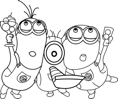 Minions Celebration Coloring Page Wecoloringpage Celebration Coloring Pages