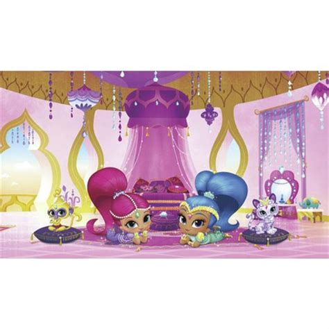 shimmer and shine l kids murals dora growth mural spongebob jellyfish mural