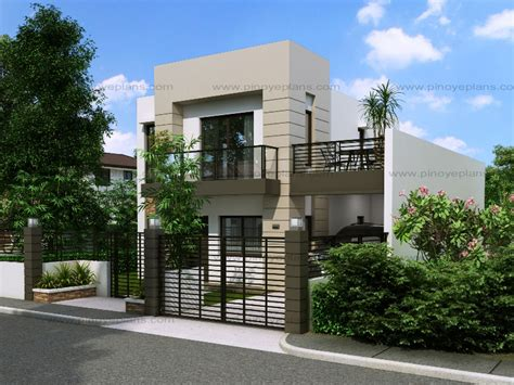 Small Home Design Singapore Modern House Design Series Mhd 2014014 Eplans
