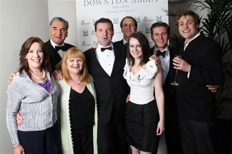 dan stevens pictures an evening with downton abbey jessica brown findlay and michelle dockery photos photos