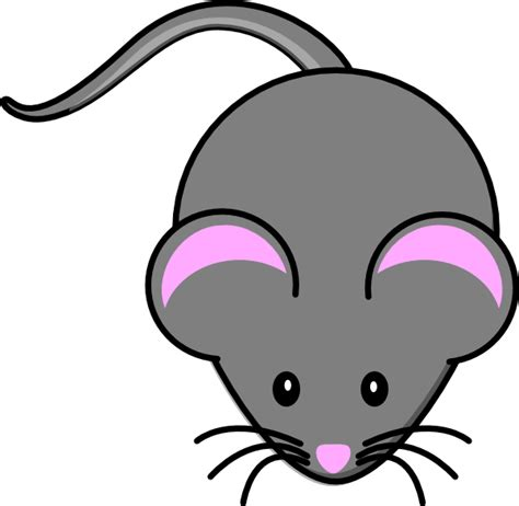 Mouse Clipart by Gray Mouse Clip At Clker Vector Clip