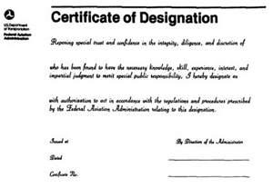 figure 13 3 faa form 8000 5 certificate of designation