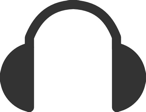 headphone clipart headphones clip at clker vector clip