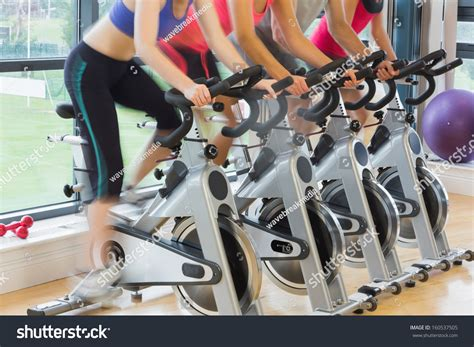 mid section workout mid section four people working out stock photo 160537505