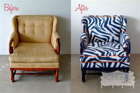 Upholstery Pictures by Before After From To Chic Lucky