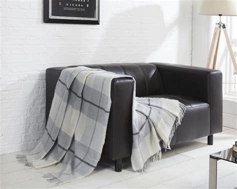 check throws for sofas toscana tartan check wool throw blanket super soft sofa