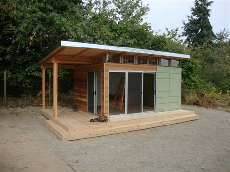 backyard shed kits modern shed home office space to frame a day