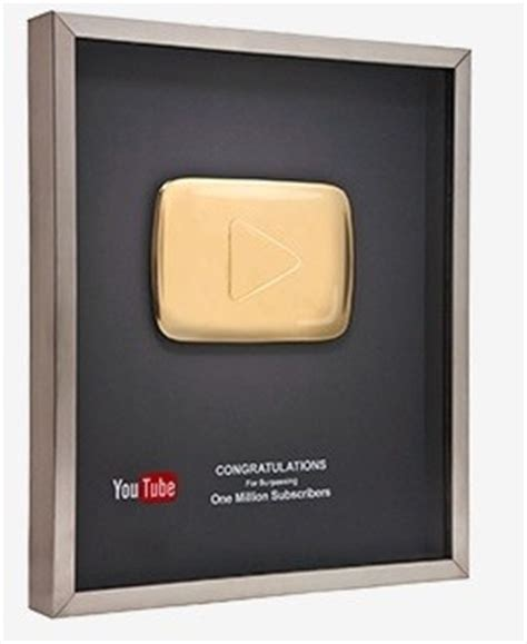youtube gives new diamond play button to channels with 10 does the golden play button and the silver play button