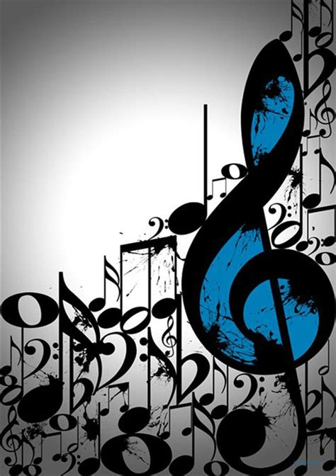 imagenes para fondo de pantalla de notas musicales clave de sol y notas musicales fondo de pantalla ringtina