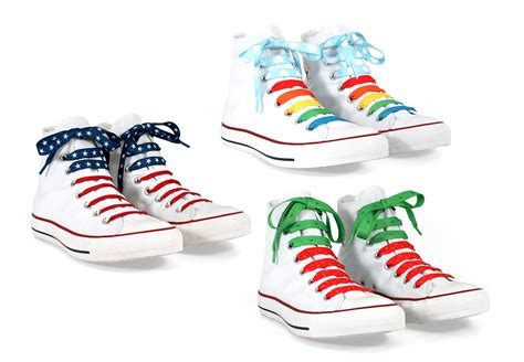 Sneakers Matthew White laces content gallery do up your shoes with bright designs