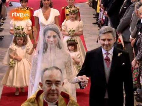 la boda de kate 8408132466 boda real brit 225 nica la novia youtube