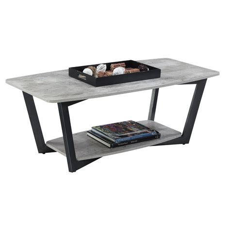 Convenience Concepts Coffee Table Convenience Concepts Graystone Coffee Table On Sale