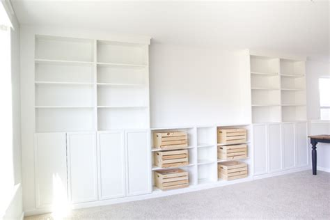 Reclaimed Wood Bookcase Diy Built Ins From Ikea Bookcases Orc Week 2 Bless Er