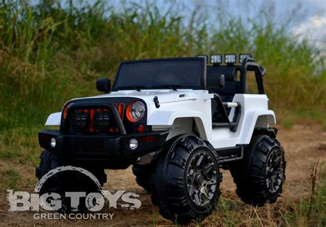 big jeep cars lifted truck ride on jeep style large motors big toys