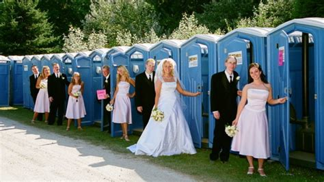portable bathroom rentals for weddings a 1 portable toilets a john inc rentals for weddings in
