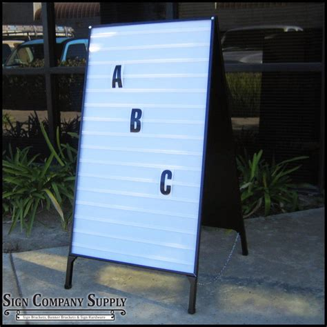 a frame folding and sidewalk signs portable a frame changeable letter folding signs a frame