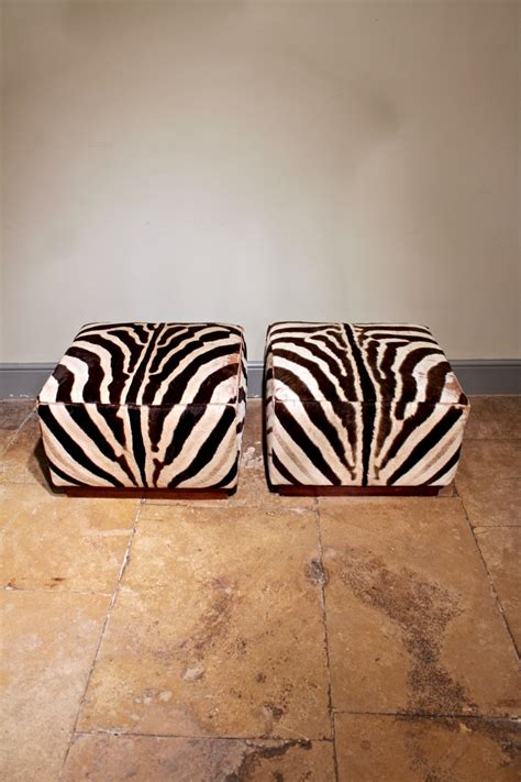 Zebra Stools by Pair Of Vintage Ralph Zebra Stools Furniture