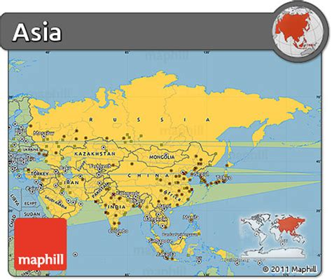 simple map of asia simple map of asia countries www pixshark images