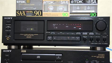 deck sony кассетная дека sony tc k850es stereo cassette deck