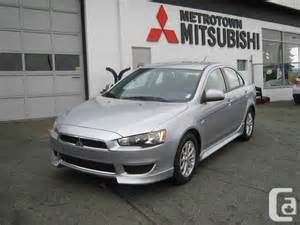 2012 Mitsubishi Lancer Se 2012 Mitsubishi Lancer Se Silver No Accidents