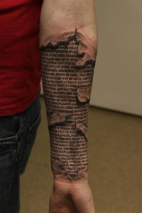 under skin tattoo great skin rip pictures tattooimages biz