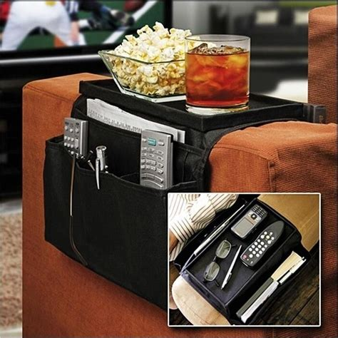 Tv Remote Holder For Sofa by Buddy Remote Holder Sofa Arm Rest Organizer