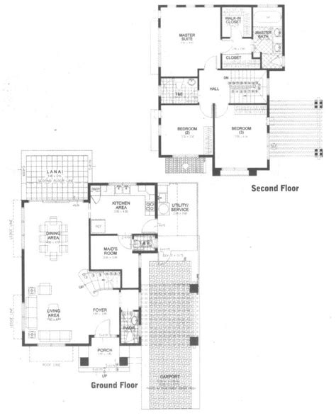 menlo redwood house floor plan philippine prime design
