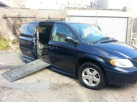 how to sell used cars 2005 dodge caravan instrument cluster sell used handicapped van 2005 dodge grand caravan sxt in troy avenue brooklyn ny new york