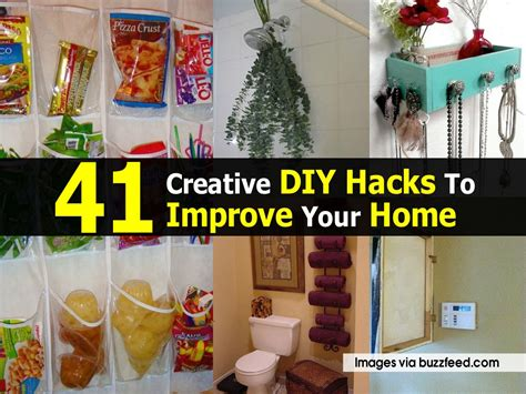 diy home hacks 41 creative diy hacks to improve your home