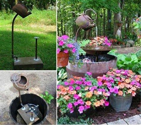 diy garden ideas 10 garden waterfalls and inspiration 40 creative diy water features for your garden