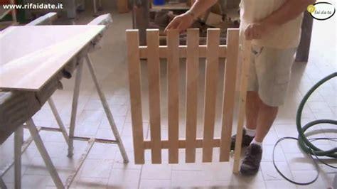 cancelletti in legno per giardino costruire un cancelletto fai da te in legno da divisorio