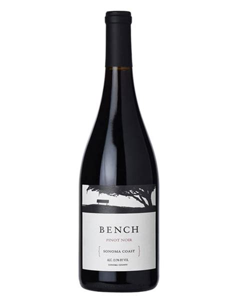 bench pinot noir 2015 bench 2015 pinot noir sonoma coast the wine wave