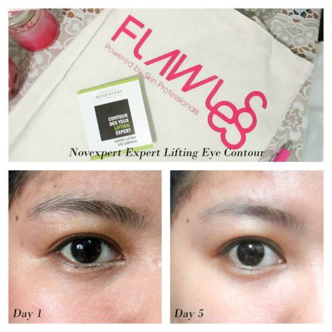 Novexpert Original 100 product review novexpert expert lifting eye contour 5 day challenge jean s list