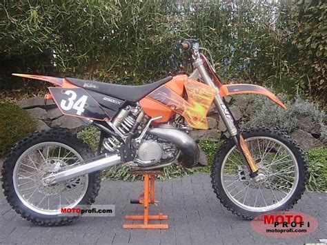 2003 Ktm 250 Sx Specs Ktm 250 Sx 2003 Specs And Photos