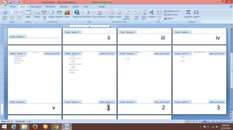 tutorial secara definitif adalah tutorial format penomoran halaman dan daftar isi secara