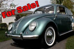 Classic vw bugs 4 5 2012 newsletter my 1955 beetle for sale new