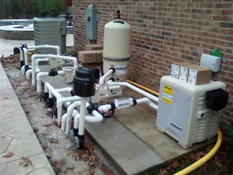 Swimming Pool Plumbing by Concrete Pool Construction Arkansas Pool Contractor