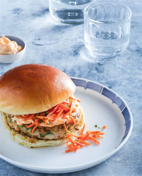 Kitchen Chicken Sorrentino Recipe by Thai Chicken Burgers With Pickled Carrots Steamy