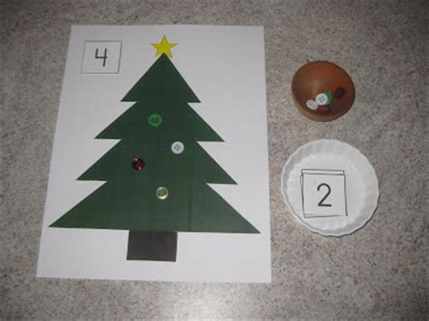 christmas tree math counting coconuts math activities