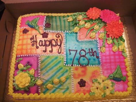 Quilt Cake by 1000 Images About Foods On Birthday Cakes