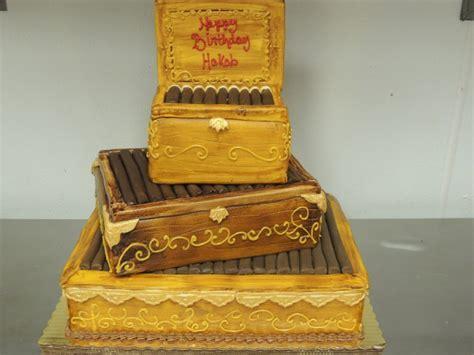 Birthday Cake Cigar Box   Birthday Cakes   Event Cakes