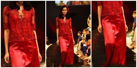 Bahan Kebaya Brokat Fuschia Merona fashion 8 model kebaya masa kini yang boleh banget untuk