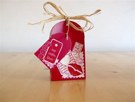 How To Make A Small Paper Gift Bag - gift bags with tag make handmade crochet craft