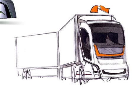 Volvo Trucks Vision 2020 by Vision 2020 Concept Volvo Trucks Transport Sketch