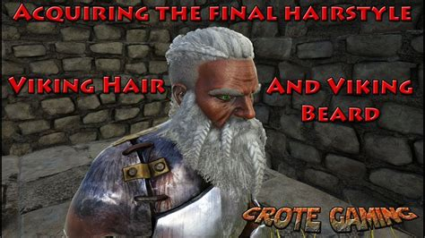 hairstyles ark unlock acquiring the viking hair and viking beard ark survival