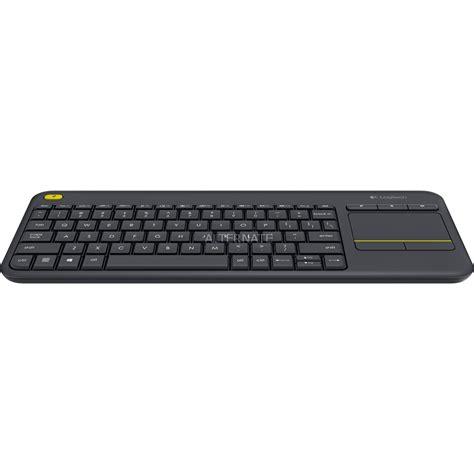 Logitech Wireless Touch Keyboard K400 Plus logitech tastiera wireless touch k400 plus prezzo e